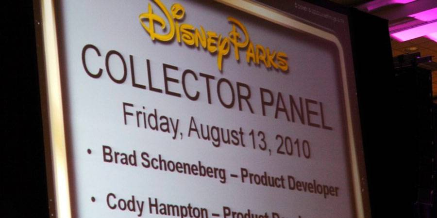 CV Disney Parks Collector Panel