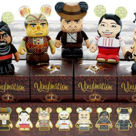 Indiana Jones Vinylmation series 1 released Jan. 10th
