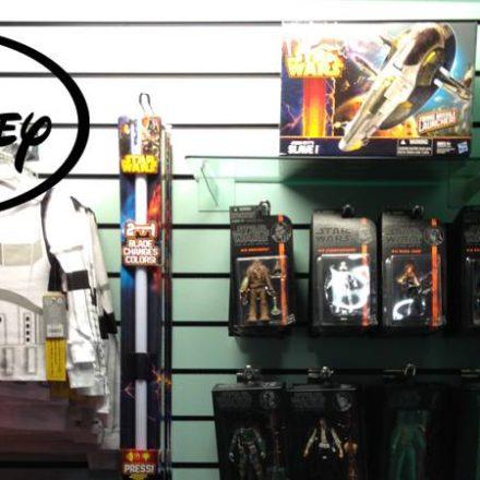 Disney Store now selling Star Wars merchandise