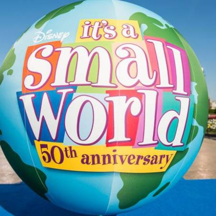 """50 years """"it's a small world"""""""