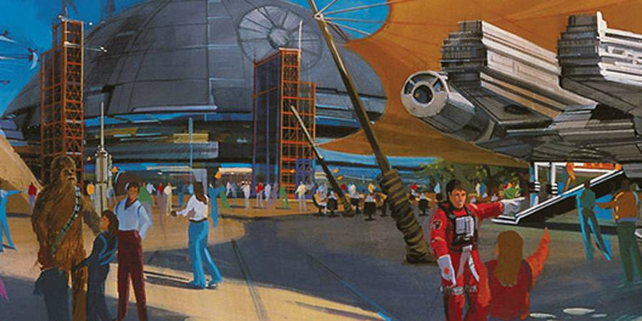 Imagineering creates a Star Wars Studio for Disneyland