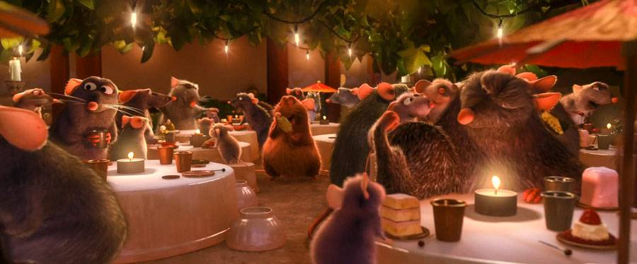 """Bistrot La Ratatouille"" from ""Ratatouille. © Disney-Pixar"