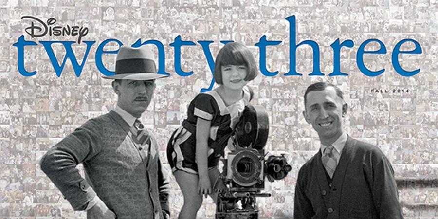 D23 Celebrates 23rd Issue of Disney Twenty-Three Magazine