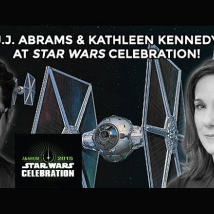 J.J. Abrams and Kathleen Kennedy at Star Wars Celebration!