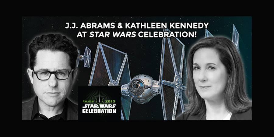 J.J. Abrams and Kathleen Kennedy at Star Wars Celebration!