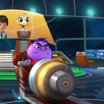 MARK HAMILL on Disney Junior's Miles from Tomorrowland