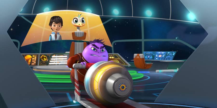 MARK HAMILL on Disney Junior's Miles from Tomorrowland