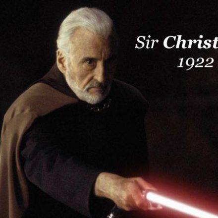 Sir Christopher Lee 1922-2015