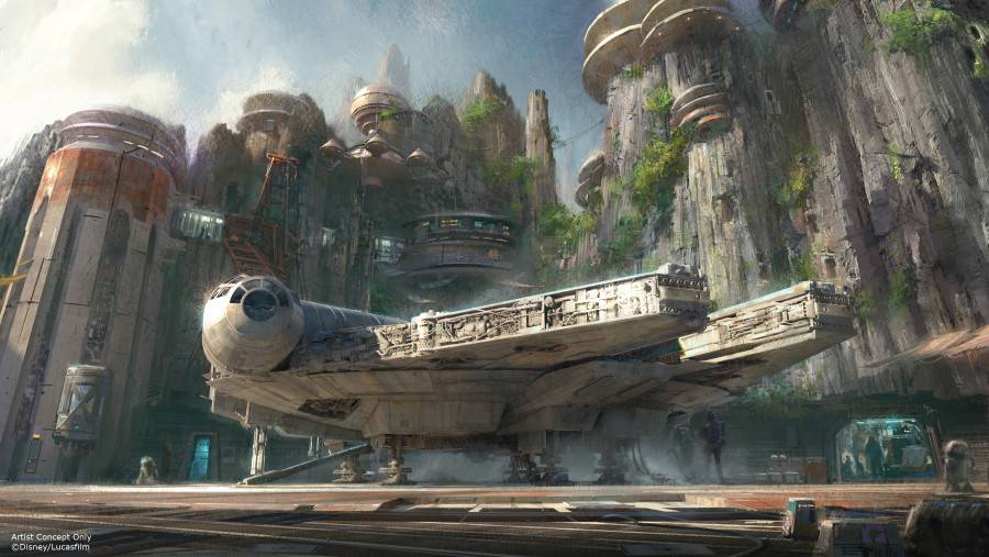 Star Wars Land Concept © Disney