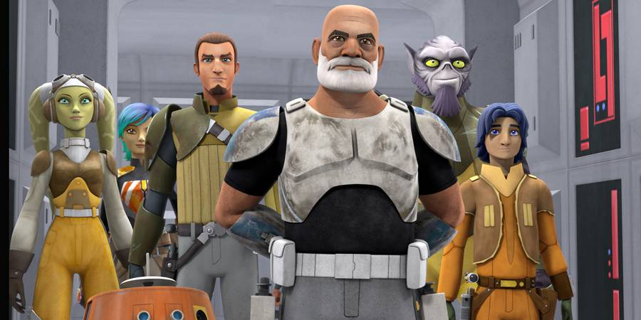 """The Lost Commanders"" – the Season Two Premiere of Star Wars Rebels!"