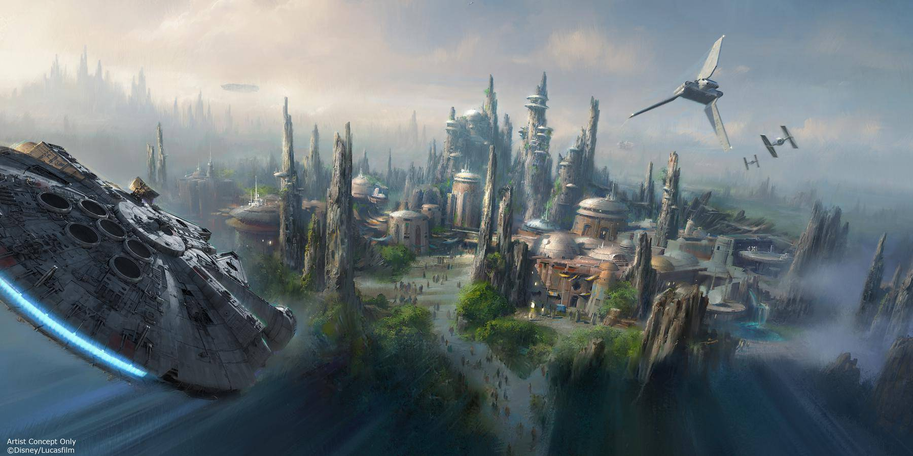 Star Wars Land Announced!