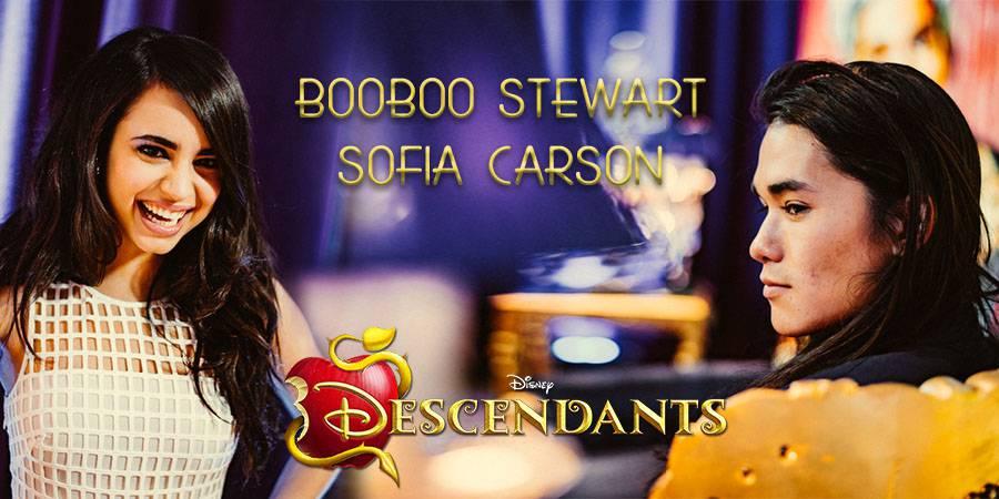 Disney Descendants: Booboo Stewart & Sofia Carson