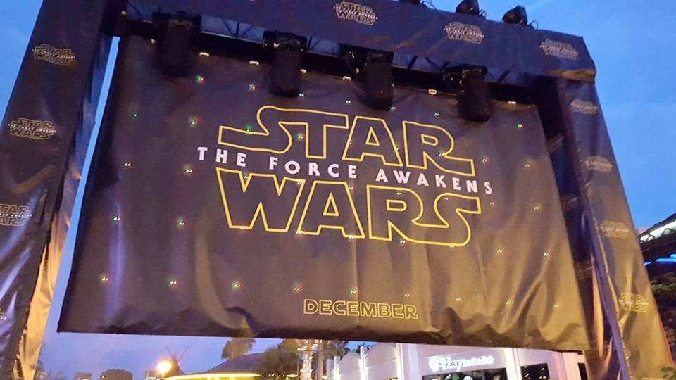 The Force Awakens Trailer Debut at Downtown Disney