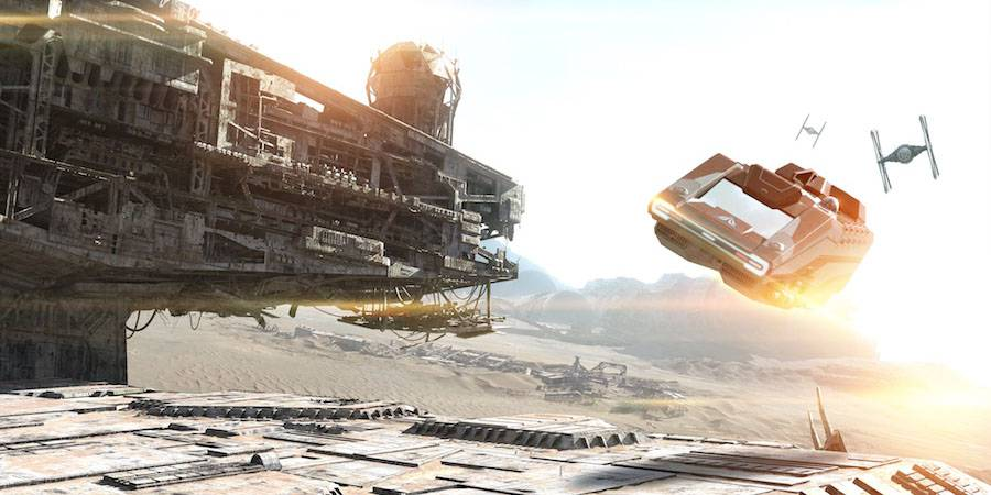 The Force Awakens in Star Tours