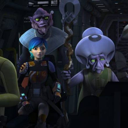 "Star Wars Rebels ""Legends of the Lasat"""