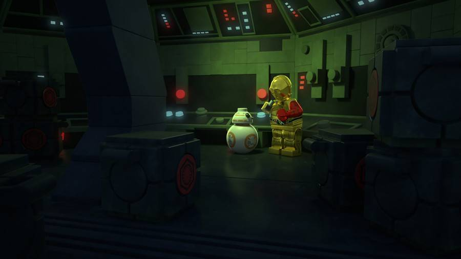 "LEGO STAR WARS: THE RESISTANCE RISES - ""LEGO Star Wars: The Resistance Rises"" features popular heroes and villains of ""Star Wars: The Force Awakens"" in a new action-adventure comedy series of shorts on Disney XD. (Disney XD) BB-8. C-3PO"