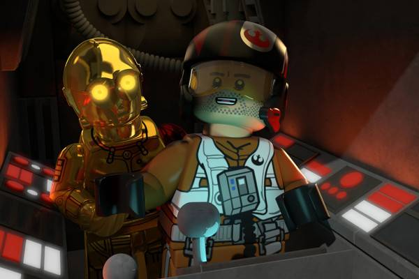 "LEGO STAR WARS: THE RESISTANCE RISES - ""LEGO Star Wars: The Resistance Rises"" features popular heroes and villains of ""Star Wars: The Force Awakens"" in a new action-adventure comedy series of shorts on Disney XD. (Disney XD) C-3PO, POE DAMERON"