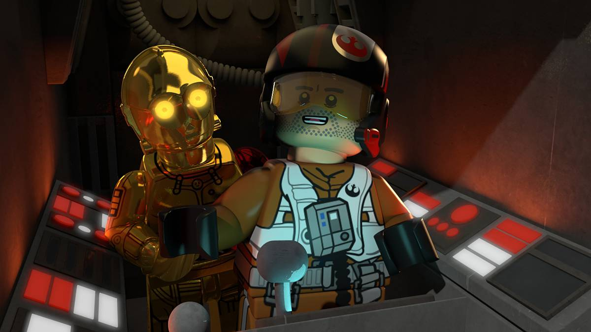 "LEGO Star Wars Short with ""Star Wars: TFA"" charaters to debut Monday on Disney XD"