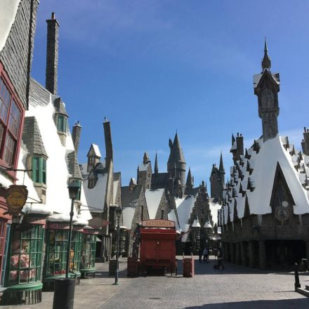 Early Look at Wizarding World Hollywood