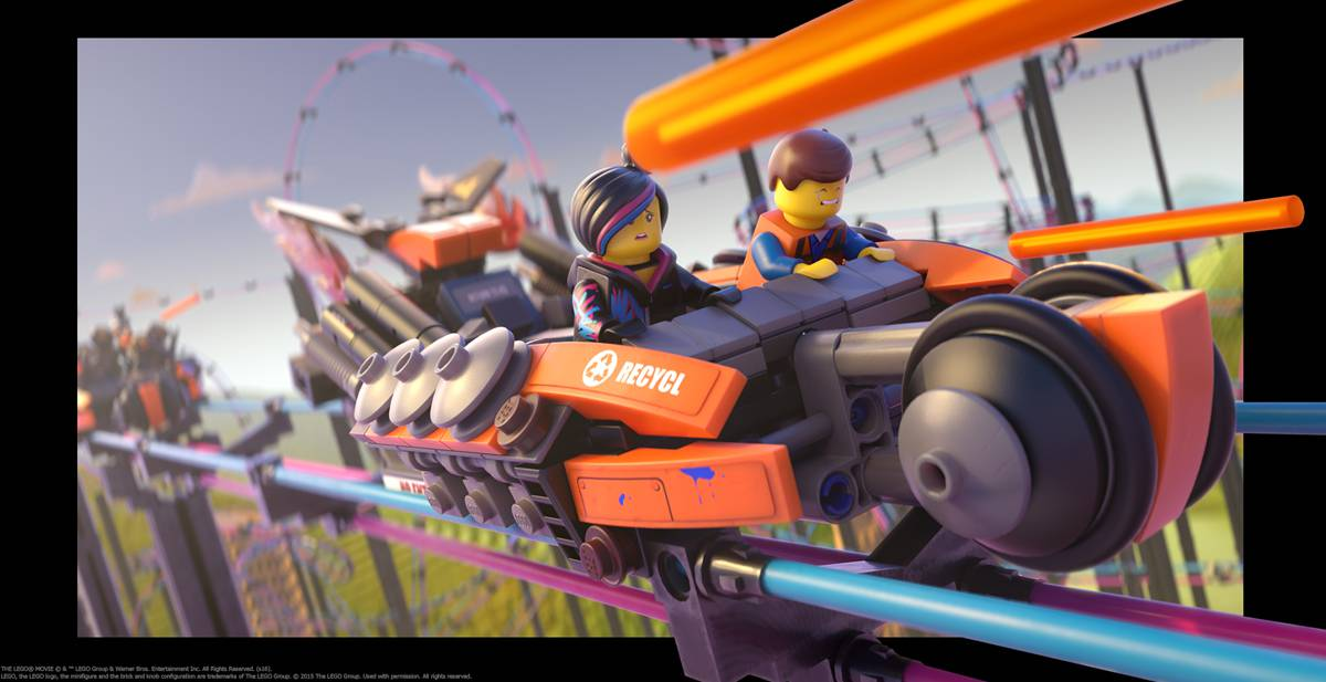 The LEGO Movie 4D An All New Adventure Debuts