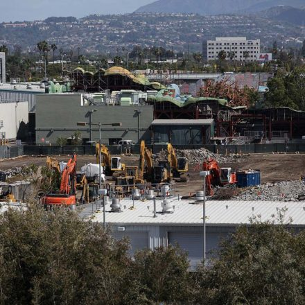 Star Wars Land Construction – Update