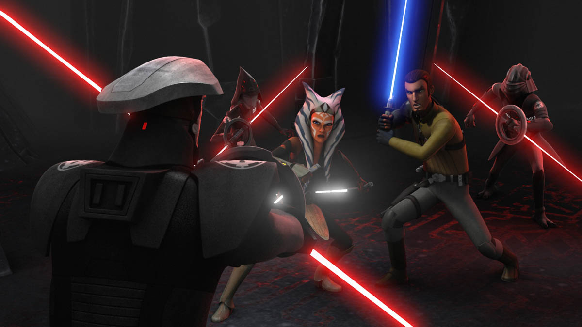 """STAR WARS REBELS – ONE-HOUR SEASON TWO FINALE """"Twilight of the Apprentice: Part I and II"""""""