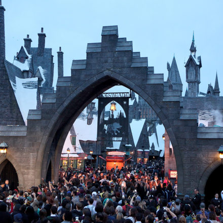 Wizarding World Hollywood's Opening Day