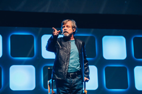 Mark Hamill takes the Celebration stage at SWCE