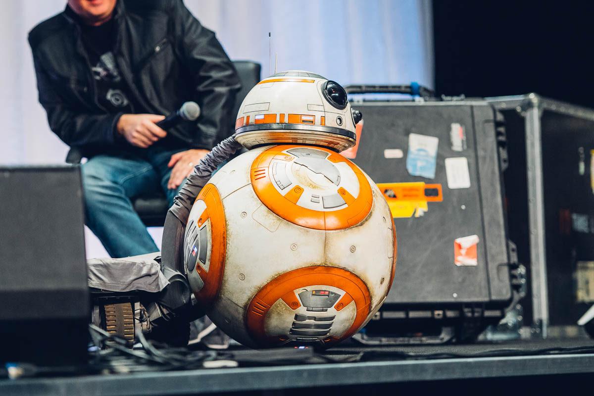 The trike BB-8