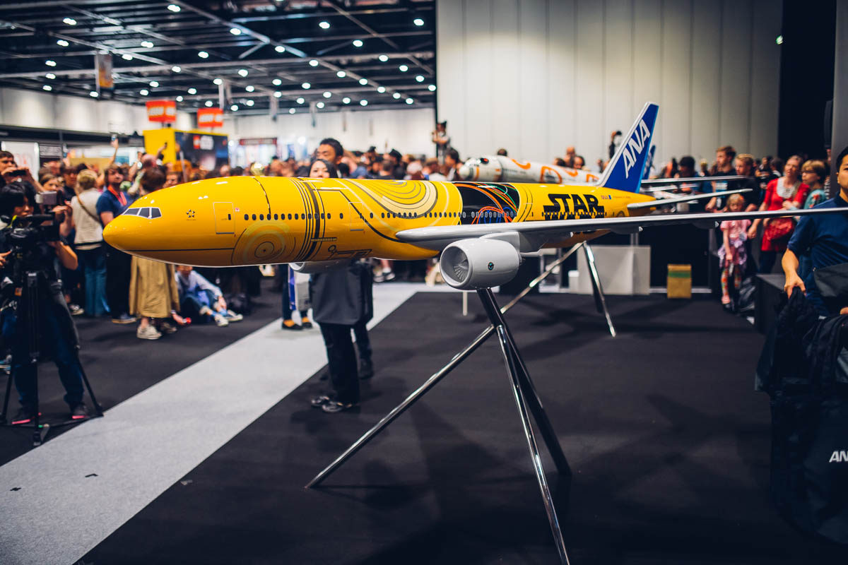 C-3PO plane