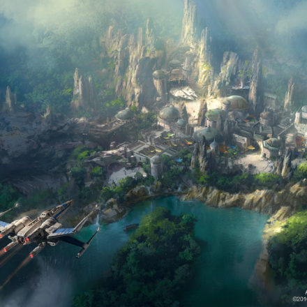 New Star Wars Land Concept Art Revealed