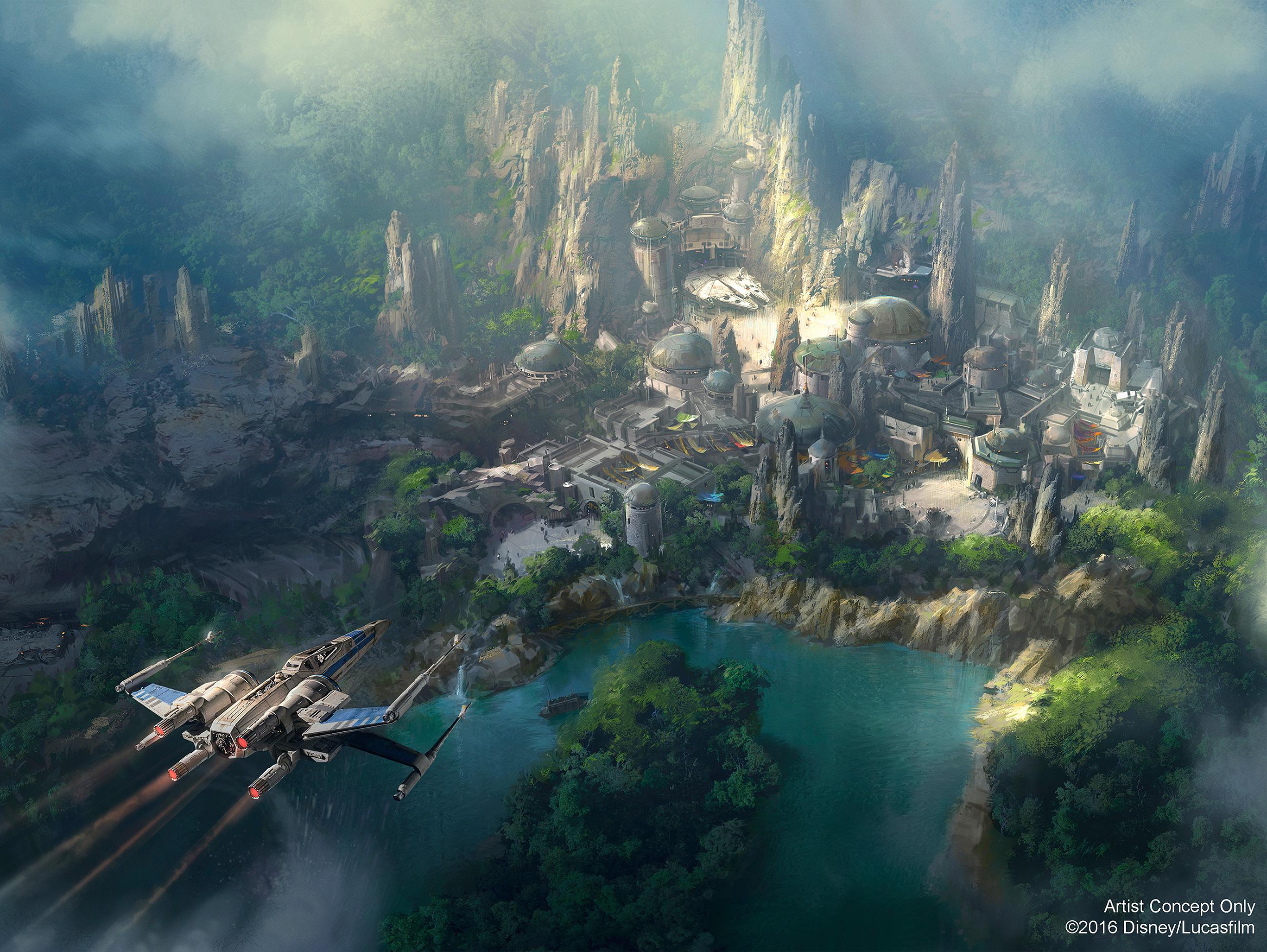 New Star Wars Land Concept Art Revealed