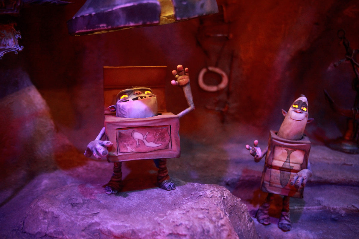 "UNIVERSAL STUDIOS HOLLYWOOD - ""From Coraline to Kubo: A Magical LAIKA Experience"" -- Pictured: ""The Box Trolls"" -- Photo by David Yeh/EndorExpress"