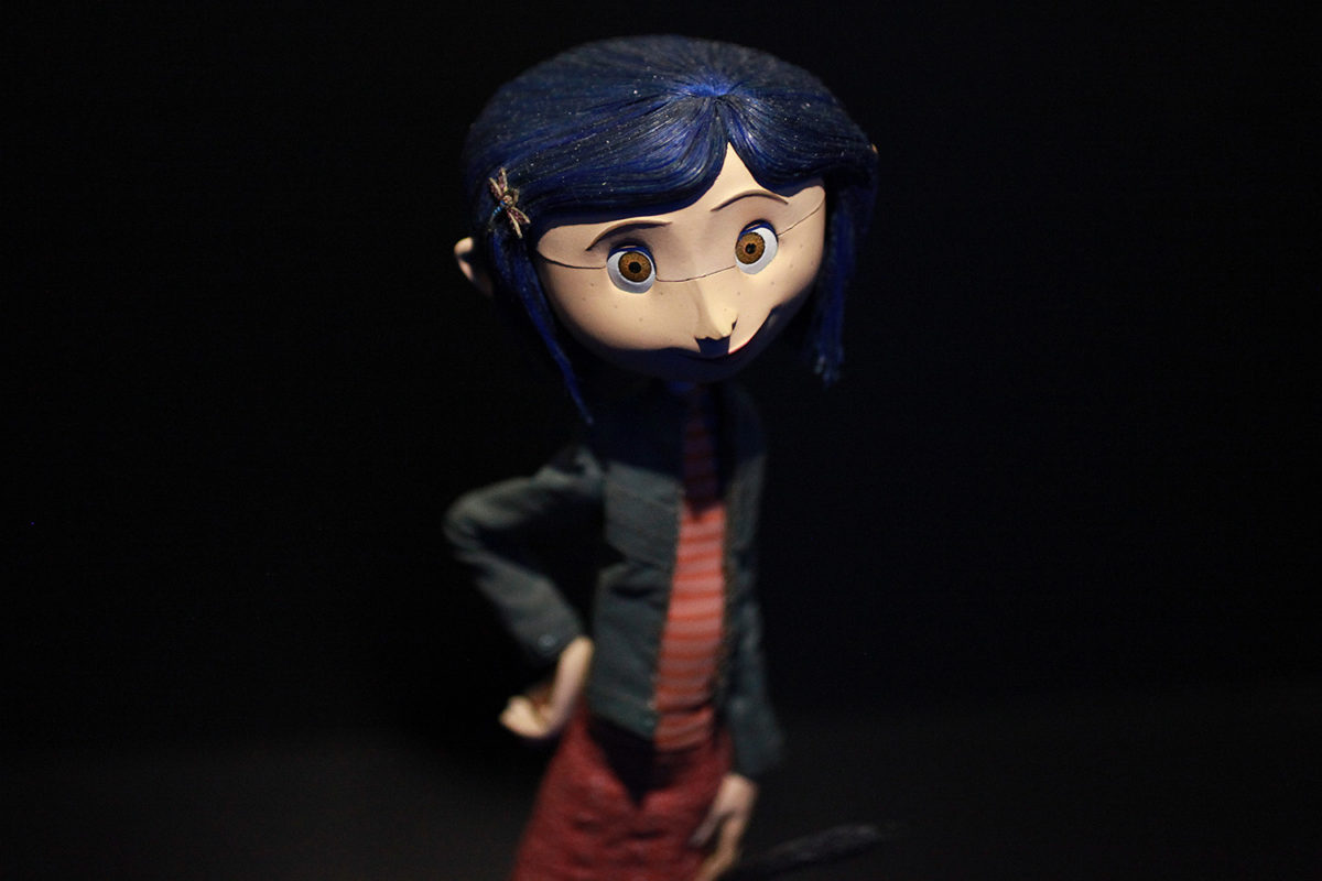 "UNIVERSAL STUDIOS HOLLYWOOD - ""From Coraline to Kubo: A Magical LAIKA Experience"" -- Pictured: ""Coraline"" -- Photo by David Yeh/EndorExpress"