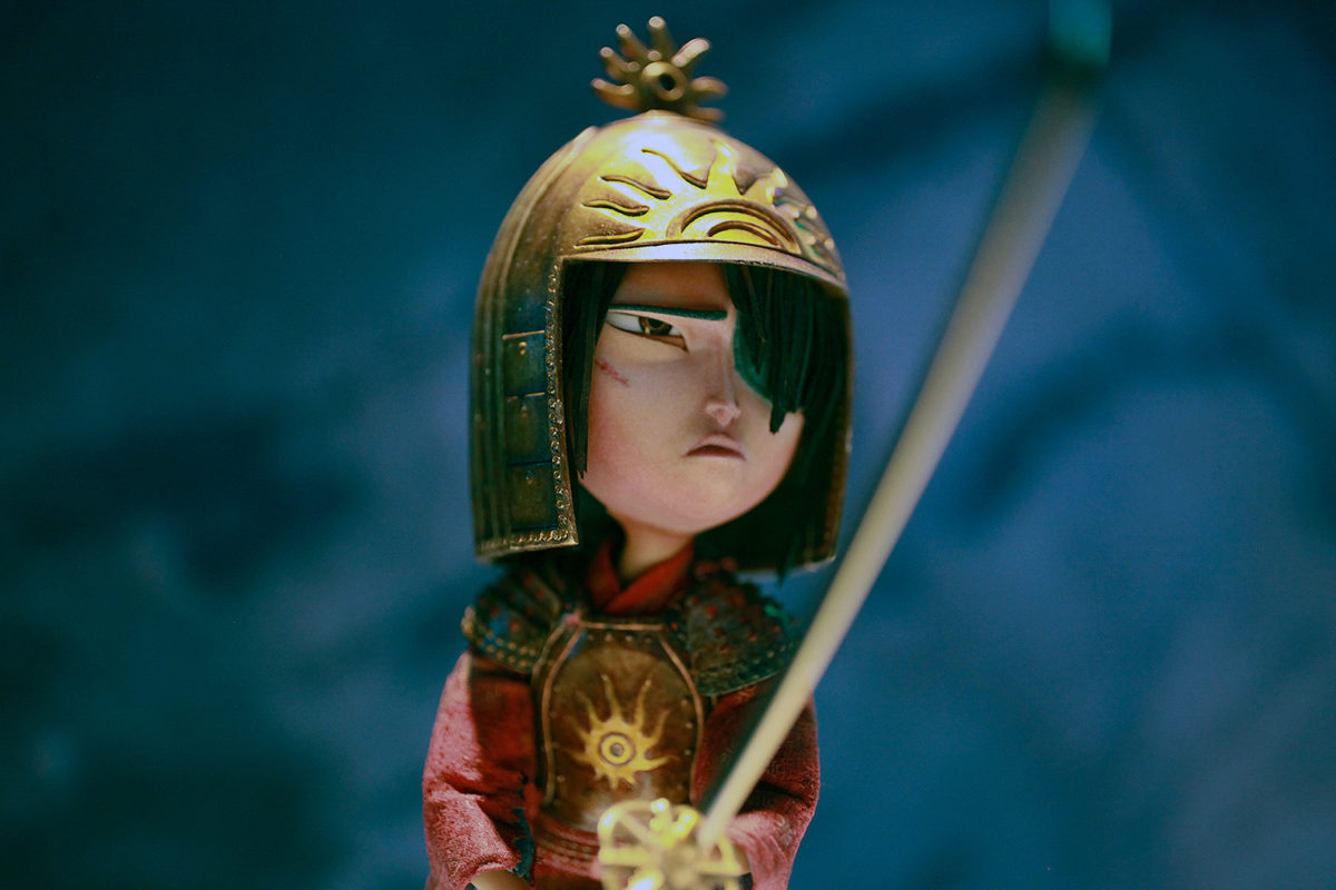 "UNIVERSAL STUDIOS HOLLYWOOD - ""From Coraline to Kubo: A Magical LAIKA Experience"" -- Pictured: ""Kubo and the Two Strings"" -- Photo by David Yeh/EndorExpress"