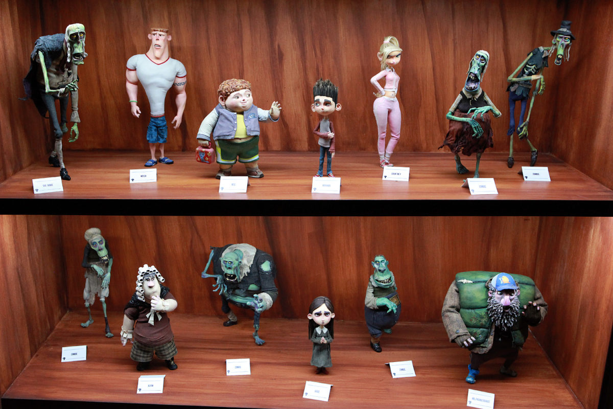 "UNIVERSAL STUDIOS HOLLYWOOD - ""From Coraline to Kubo: A Magical LAIKA Experience"" -- Pictured: ""ParaNorman"" -- Photo by David Yeh/EndorExpress"