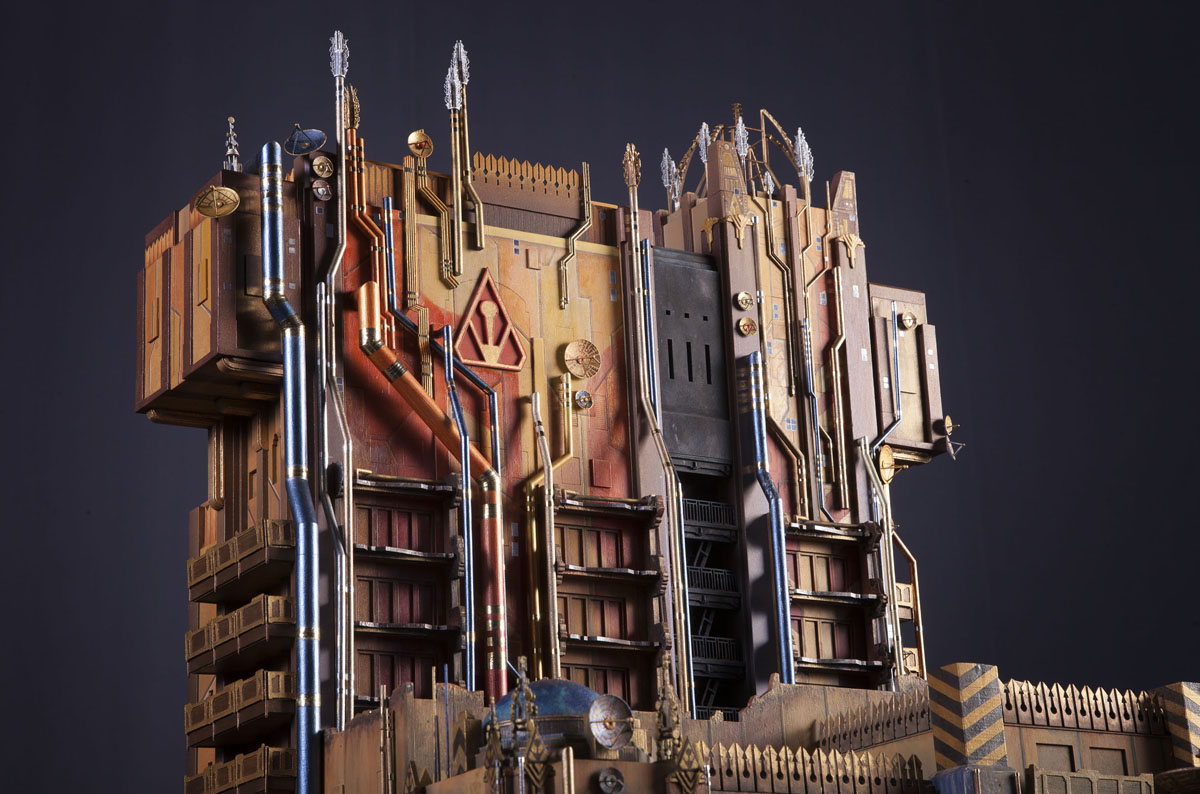 Disneyland Offers Peak at Guardians of the Galaxy's New Tower