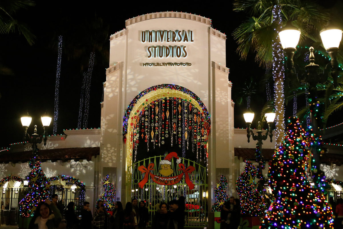 Grinchmas at Universal Studios Hollywood!