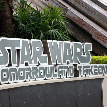 HKDL Star Wars Tomorrowland Takeover