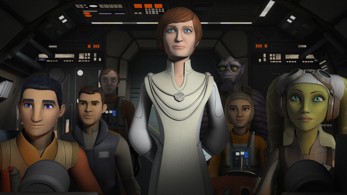 "Genevieve O'Reilly Reprises Her Role as Mon Mothma in ""Star Wars Rebels"""