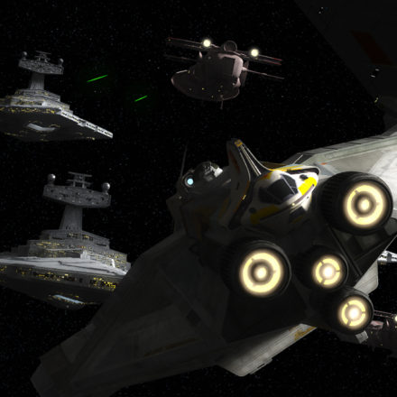 "Star Wars Rebels ""Zero Hour"" Season Finale"