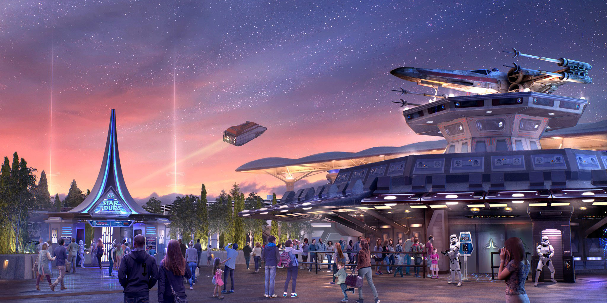 Star Tours 2 soft-opens to Cast Members in Paris