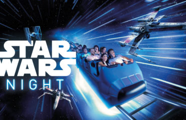 Hyperspace Mountain blasts off at Soirée Star Wars