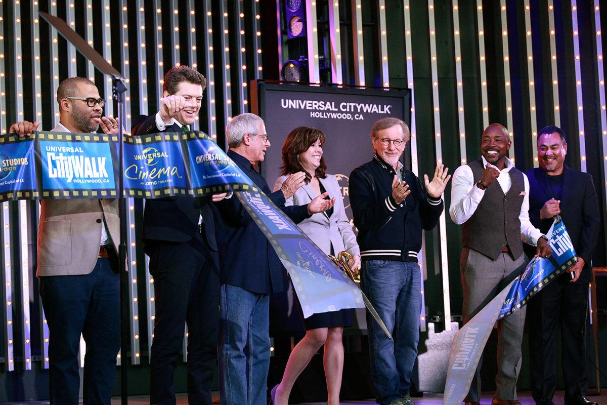 Steven Spielberg Helps Grand Open Universal Cinema At