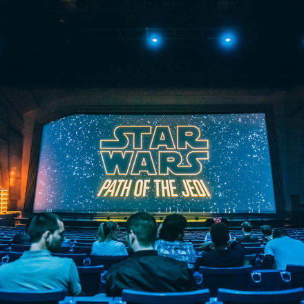 Path Of The Jedi at Disneyland Paris