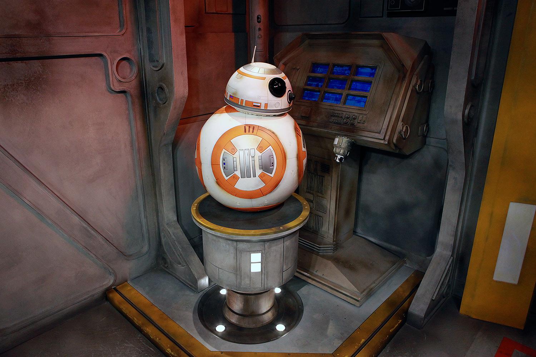 BB-8 Astromech On Duty at WDW
