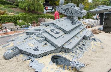 Jakku Miniland at LEGOLand California