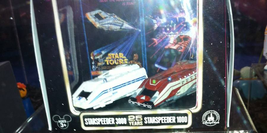 25th Anniversary Die Cast Starspeeder 2 pack