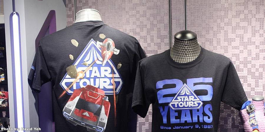 Star Tours 25th Anniversary Merchandise