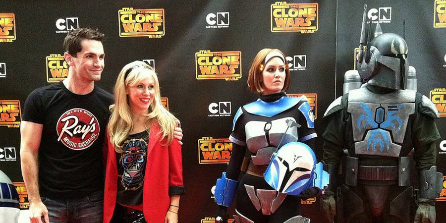 Actress Ashley Eckstein Releases Star Wars Video Diary